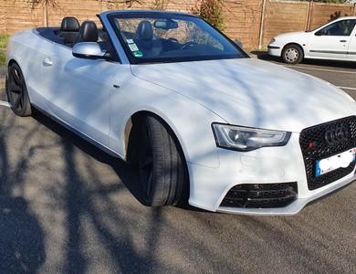 Audi S5 à Nozay (Essonne)