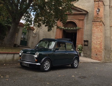 Austin Mini British Open à Ricaud (Aude)