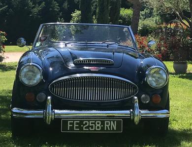Austin Healey 3000 Mkiii Bj8 à Massac-Séran (Tarn)