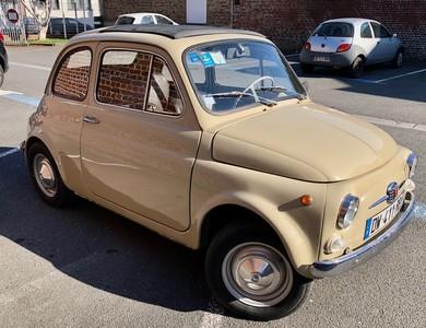 Fiat 500 110f à Lambersart (Nord)
