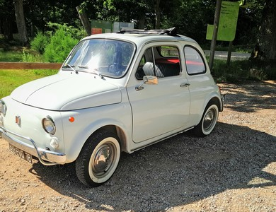 Fiat 500 110f à Rambouillet (Yvelines)