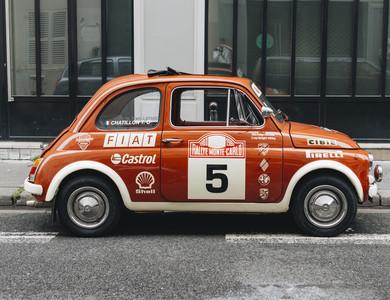Fiat 500 Abarth Rallye Edizione à Paris (8ème arr.)
