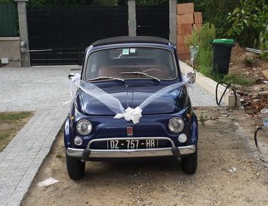 Fiat 500 à Colombes (Hauts-de-Seine)