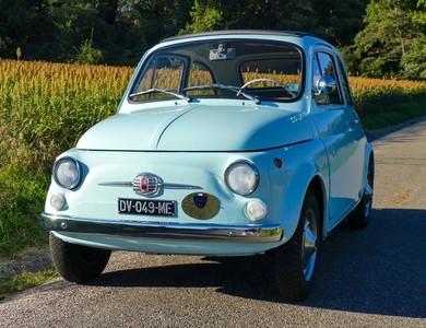 Fiat 500 F à Lyon (3ème arr.)