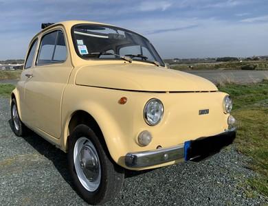 Fiat 500 à La Baule Escoublac (Loire-Atlantique)