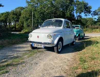 Fiat 500 à La Baule-Escoublac (Loire-Atlantique)