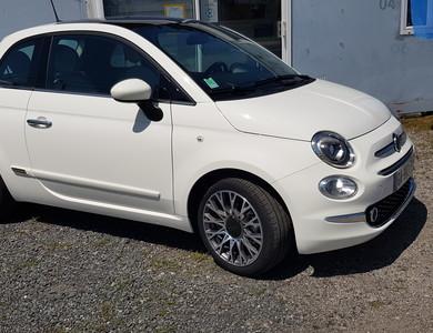 Fiat 500 à Moulins (Allier)