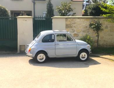 Fiat 500 à Sceaux (Hauts-de-Seine)