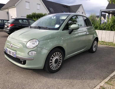 Fiat 500 à Scherwiller (Bas-Rhin)