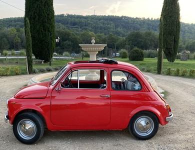 Fiat 500r à Roquebrune-sur-Argens (Var)