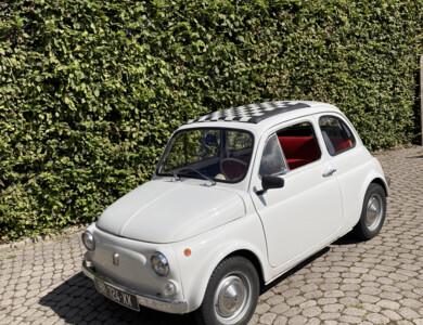 Fiat Fiat 500 à Tramoyes