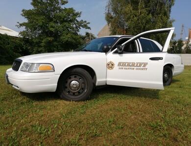 Ford Crown Victoria Police Interceptor à Polincove (Pas-de-Calais)