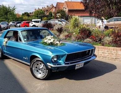 Ford Mustang (1ère Gen) à Hem (Nord)