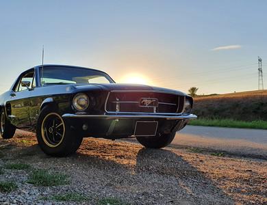 Ford Mustang (1ère Gen) à Nancy (Meurthe-et-Moselle)