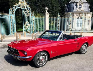 Ford Mustang Cabriolet Rouge à Nanterre (Hauts-de-Seine)