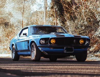 Ford Mustang à Marseille (9ème arr.)