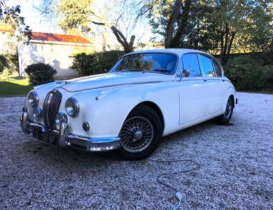 Jaguar Mk2 3l8 à Bordeaux (Gironde)