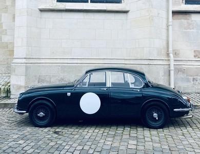 Jaguar Mk2 à Bourges (Cher)