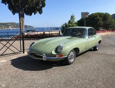 Jaguar Type E 4.2 à Saint-Héand (Loire)