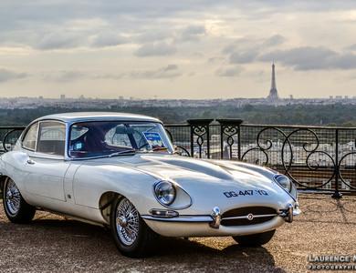 Jaguar Type E Série 2 Coupe à Puteaux (Hauts-de-Seine)