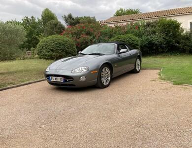 Jaguar Xk 8 à Aragon (Aude)