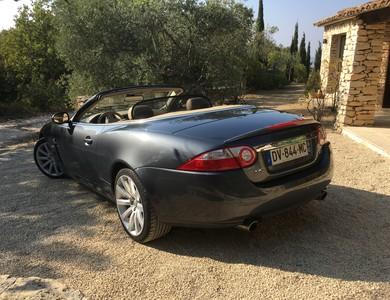 Jaguar Xk Cab à Puyvert (Vaucluse)