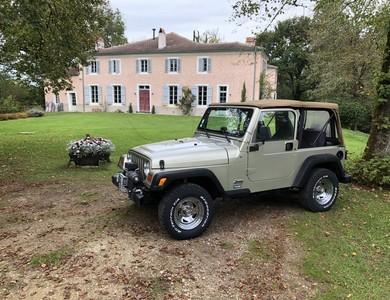 Jeep Wrangler à Morcenx-la-Nouvelle (Landes)