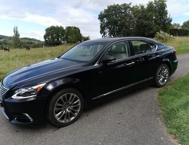Lexus Ls600h à Draillant (Haute-Savoie)