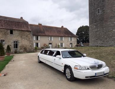 Lincoln Town Car Limousine à Allassac (Corrèze)