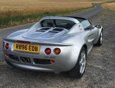 Lotus Elise S1 à Reims (Marne)