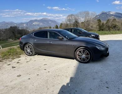 Maserati Ghibli Sq4 410ch à Saint-Sixt (Haute-Savoie)