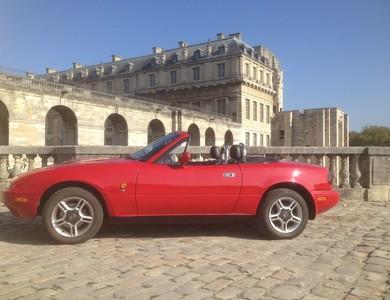 Mazda Mx-5 (na) à Paris (20ème arr.)
