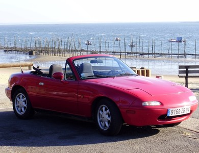 Mazda Mx-5 (na) à Paris (14ème arr.)