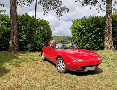 Mazda Mx-5 à Tigery (Essonne)