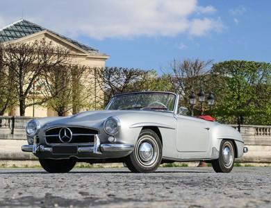 Mercedes-benz 190 Sl à Paris (17ème arr.)