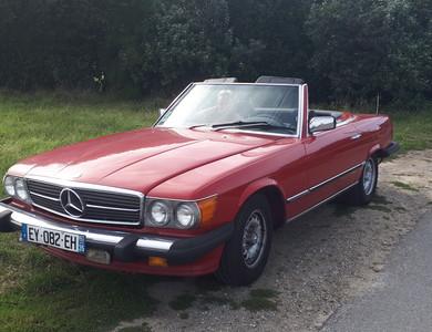 Mercedes-benz 380 Sl à Rennes (Ille-et-Vilaine)