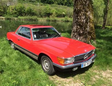 Mercedes-benz 450 Slc à Roulans (Doubs)