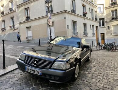 Mercedes-benz 500sl Cabriolet à Paris (19ème arr.)