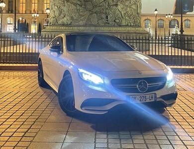 Mercedes-benz Classe S 63 Amg V8 Biturbo à Paris (17ème arr.)