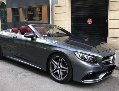 Mercedes-benz S 63 Amg Cabriolet à Paris (8ème arr.)