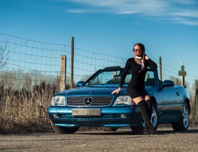 Mercedes-benz Sl 320 (r129) Cabriolet à Attainville (Val-d'Oise)