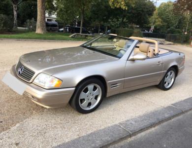 Mercedes-benz Sl 500 (r129) à Boulogne-Billancourt (Hauts-de-Seine)