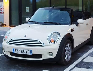 Mini Cooper à Hyères (Var)