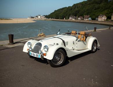 Morgan Roadster à Cabourg (Calvados)