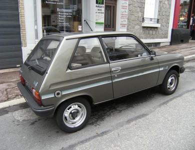 Peugeot 104 Coupé à Saint-Corneille (Sarthe)