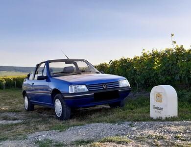 Peugeot 205 Cj Cabriolet à Reims (Marne)