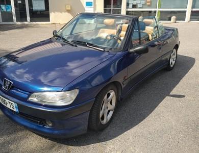 Peugeot 306 Cabriolet à Saint-Max (Meurthe-et-Moselle)