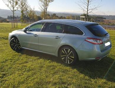 Peugeot 508 à Annemasse (Haute-Savoie)