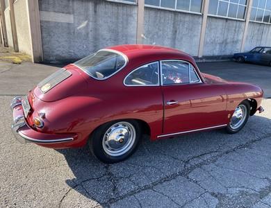 Porsche 356b à Annecy (Haute-Savoie)
