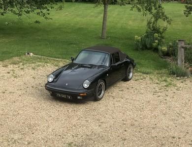 Porsche 911 3.2l Cabriolet Type G à Clichy (Hauts-de-Seine)